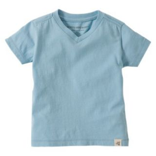 Burts Bees Baby Toddler Boys V Neck Tee   Misty Blue 2T