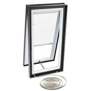 Velux RMC 2234 1028 Skylight Blind, Electric Powered Light Filtering for Velux VCE 2234 Models White