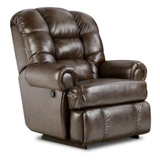 American Furniture New Era Big Man Faux Leather Recliner Multicolor   9930 1812