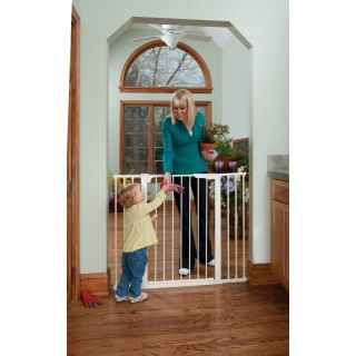 KidCo Extra Tall & Wide Auto Close Gateway   White   G1200