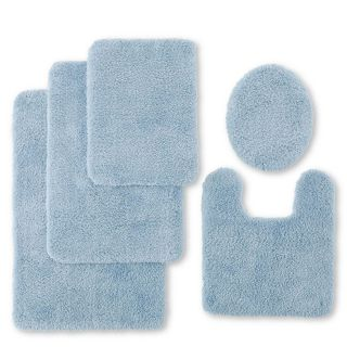 JCP Home Collection  Home Ultra Soft Quick Dri Bath Rug Collection, Blue