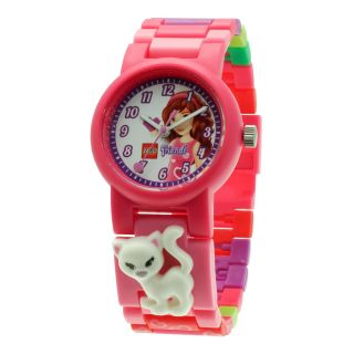 Lego Friends Girls Minifigure Watch Set, Pink, Girls