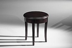 Classic Modern End Table in Brazilian Cherry Veneers and Solids with