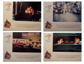 American Graffiti Re Release (Original Obby Card Set) Movie Poster