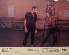 All That Jazz (Original Lobby Card   #8) Movie Poster