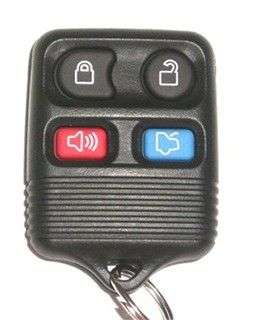 2008 Lincoln Town Car Keyless Entry Remote   Used