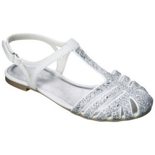 Girls Cherokee Fara Sandals   White 3