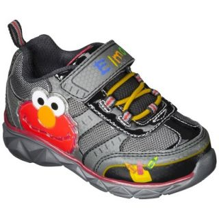 Toddler Boys Sesame Street Elmo Sneakers   Black 4