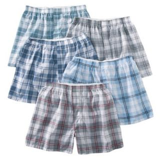 Fruit of the Loom Mens Boxers 5 Pack   Heather S