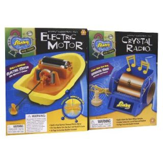 Alex Brands Scientific Explorer 03003 Crystal Radio/Electric Motor Combo Pack