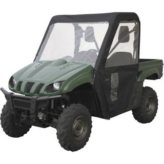 Classic Accessories QuadGear UTV Cabin Enclosure   Fits Yamaha Rhino, Black,