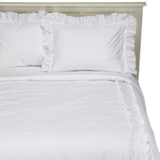 Simply Shabby Chic White Heirloom Comforter Set   Twin
