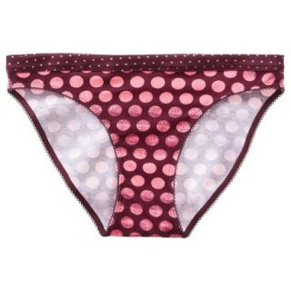 Xhilaration Juniors Cotton Bikini   Red S