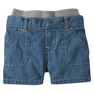 Burts Bees Baby Toddler Boys Jean Short   Chambray 2T