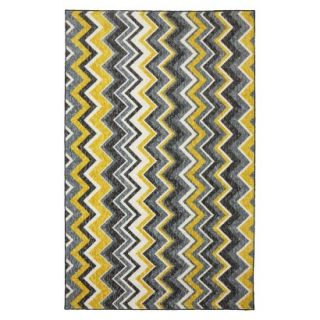 Mohawk Home Felicity Ziggidy Area Rug   Yellow (5x8)