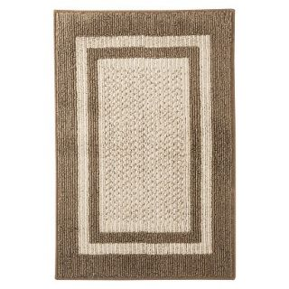 Mohawk Home Tufted Sisal Accent Rug   Brown (18x26)