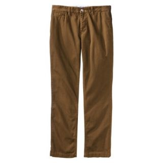 Mossimo Supply Co. Mens Slim Fit Chino Pants   Gilded Brown 30x30
