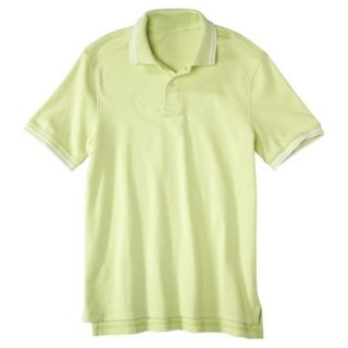 Mens Classic Fit Polo Shirt luminary yellow green S