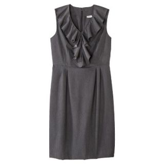 Merona Petites Sleeveless Sheath Dress   Gray 16P