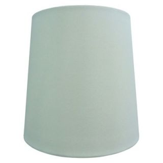 Threshold White Linen Tall Lamp Shade   White Medium