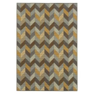 Heidi Chevron Indoor/Outdoor Area Rug (67x96)