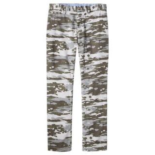 Mossimo Supply Co. Mens Slim Fit Chino Pants   Mesa Gray Camouflage 36x32