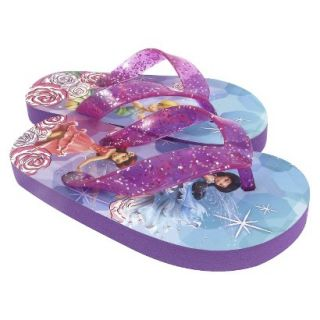 Toddler Girls Tinkerbell Flip Flop Sandals   Multicolor 8