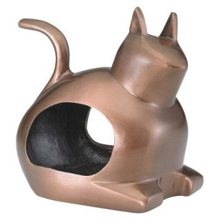 Good Directions Enchanted Cat   Bird Feeder   Bronze