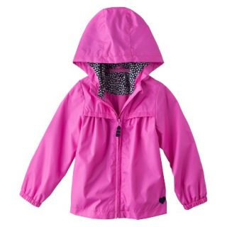 Just One You by Carters Infant Toddler Girls Windbreaker Jacket   Pink 5T