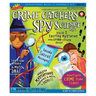 Alex Brands Scientific Explorer 0S6802008 Crime Catchers Spy Science Kit