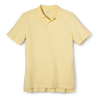 Mens Classic Fit Polo Shirt Popcorn Yellow M