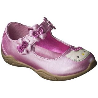Toddler Girls Hello Kitty Mary Jane Shoe   Pink 5