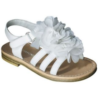 Toddler Girls Cherokee Joslyn Sandal   White 6