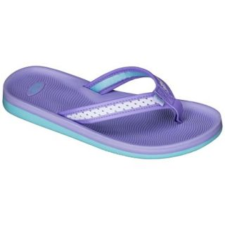 Girls C9 by Champion Hydee Flip Flop Sandals   Purple S