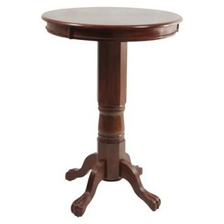 Pub Table Boraam Industries Florence Pub Table   Red Brown (Cherry)