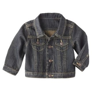 Genuine Kids from OshKosh Newborn Boys Denim Jacket   Blue NB