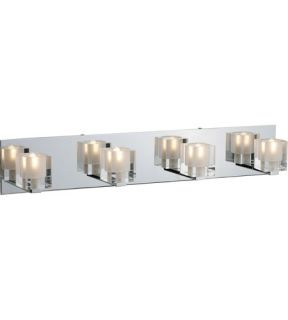 Blocs 4 Light Bathroom Vanity Lights in Polished Chrome E22170 18