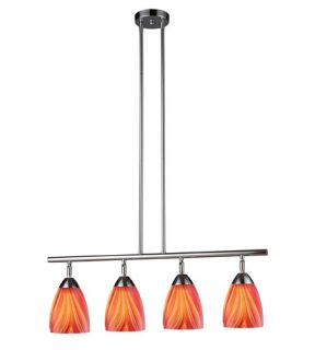 Celina 4 Light Island Lights in Polished Chrome 10153/4PC M