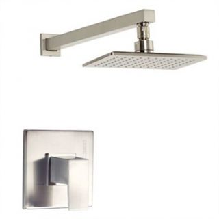 Danze Mid Town Trim Only Single Handle Pressure Balance Shower Faucet   Brushed