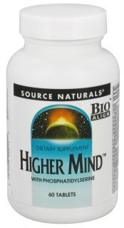 Source Naturals   Higher Mind With Phosphatidylserine   60 Tablets