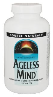 Source Naturals   Ageless Mind   120 Tablets