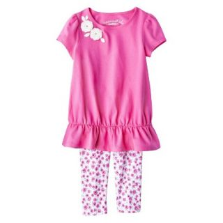 Genuine Kids from OshKosh Infant Toddler Girls Tunic & Floral Legging Set