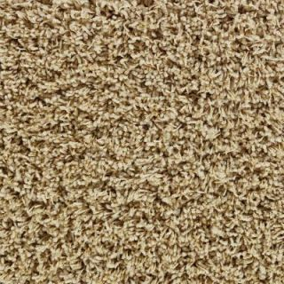 Martha Stewart Living Bellefleur (S)   Color Fortune Cookie 6 in. x 9 in. Take Home Carpet Sample MS 484303