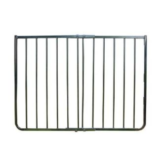 Cardinal Gates 30 in. H x 27 in. to 42.5 in. W x 2 in. D Black Stairway Special Safety Gate SS30 BK P