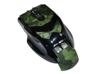 USB 6 Buttons 2.4G Wireless Adjustable Weight Gaming Game Mouse 1000/1600/2000 DPI for PC Laptop Desktop Green   Mice