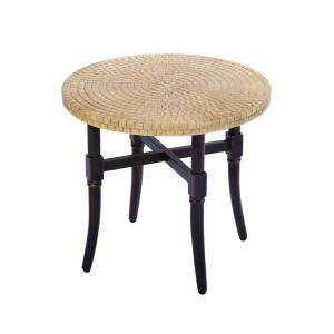 Hampton Bay Madison Patio Side Table DISCONTINUED 13H 001 22ET