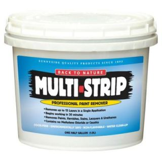 MULTI STRIP 1/2 gal. Multi Strip Professional Paint Remover 65764