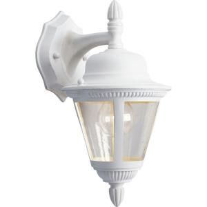 Progress Lighting Westport Collection Outdoor White Wall Lantern P5862 30