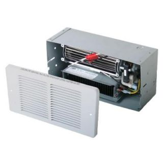 King Electric 7.5 in. 1500 Watt 240 Volt Forced Air Wall Mounted Heater with Thermostat H1001