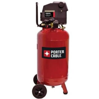Porter Cable 20 Gal. Vertical Portable Electric Air Compressor PXCMF220VW
